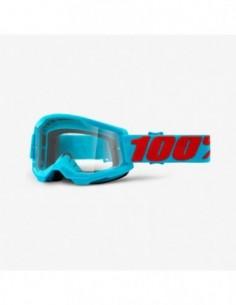 GOGLE 100% PROCENT STRATA 2 LIGHT BLUE RED