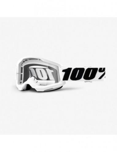 GOGLE 100% PROCENT STRATA 2 WHITE