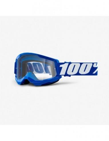 GOGLE 100% PROCENT STRATA 2 BLUE