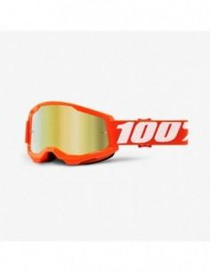 GOGLE 100% PROCENT STRATA 2 RED GOLD