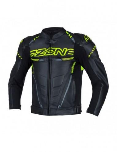 motocyklowa kurtka skórzana ozone