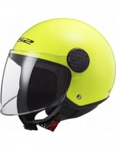 LS2 OF558 SPHERE H-V YELLOW KASK MOTOCYKLOWY
