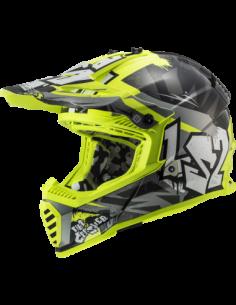 LS2 MX437 CRUSHER KASK MOTOCYKLOWY