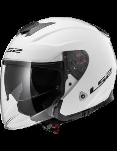 LS2 OF521 WHITE KASK MOTOCYKLOWY