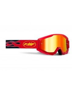 GOGLE FMF POWERCORE FLAME RED - SZYBA MIRROR RED