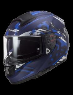 LS2 FF397 VECTOR BLUE KASK MOTOCYKLOWY