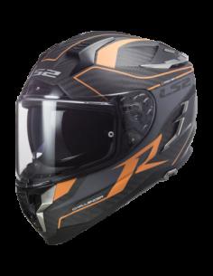 LS2 FF327 GRID ORANGE KASK MOTOCYKLOWY