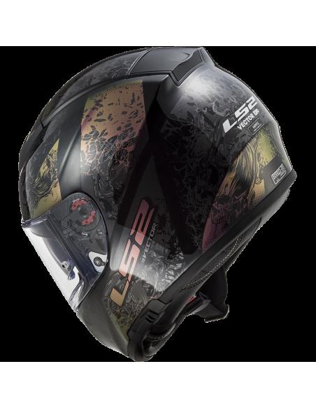kask motocyklowy ls2 ff397 zamknięty