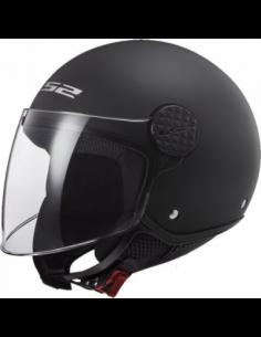 LS2 OF558 SPHERE MATT BLACK KASK MOTOCYKLOWY