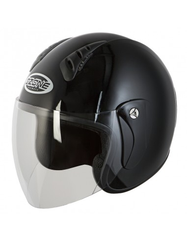 KASK OPEN FACE OZONE HY818 BLACK