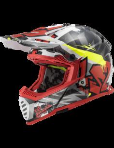 KASK MOTOCYKLOWY LS2 MX437 CRUSHER