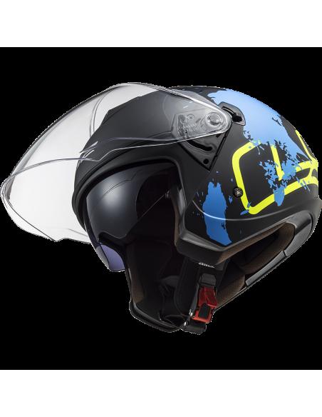 kask motocyklowy ls2 of573 otwarty