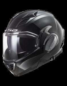 KASK MOTOCYKLOWY LS2 FF900 VALIANT II  SOLID BLACK