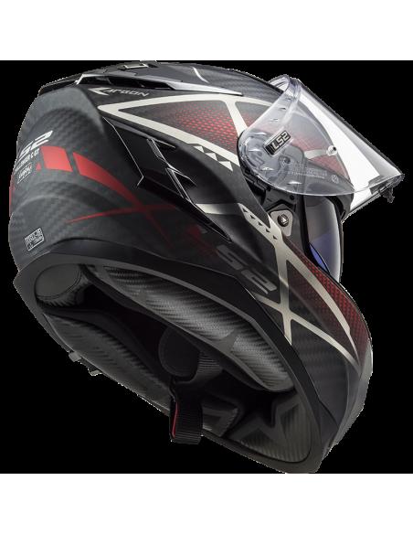 kask motocyklowy ls2 ff327 zamknięty