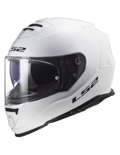 LS2 FF800 STORM SOLID WHITE KASK MOTOCYKLOWY