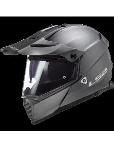 LS2 MX436 SOLID TITAN KASK MOTOCYKLOWY