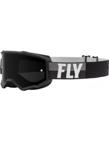 GOGLE MOTOCYKLOWE FLY RACING ZONE BLACK