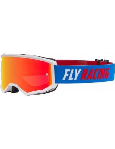 GOGLE MOTOCYKLOWE FLY RACING ZONE BLUE