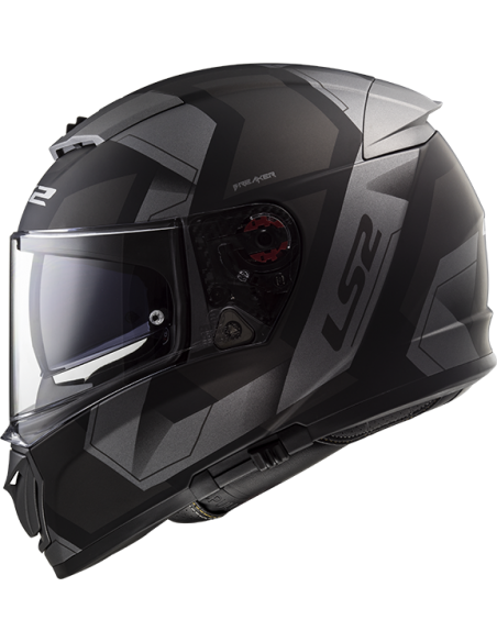 kask motocyklowy ls2 FF390 zamknięty