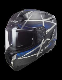 LS2 FF327 KONIC BLUE KASK MOTOCYKLOWY