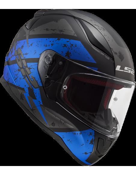 kask motocyklowy ls2 FF353 zamknięty