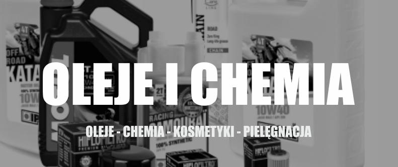 oleje i chemia motocyklowa